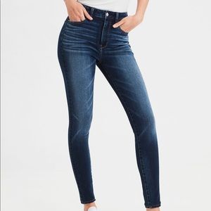 Super high waisted Jegging from American Eagle